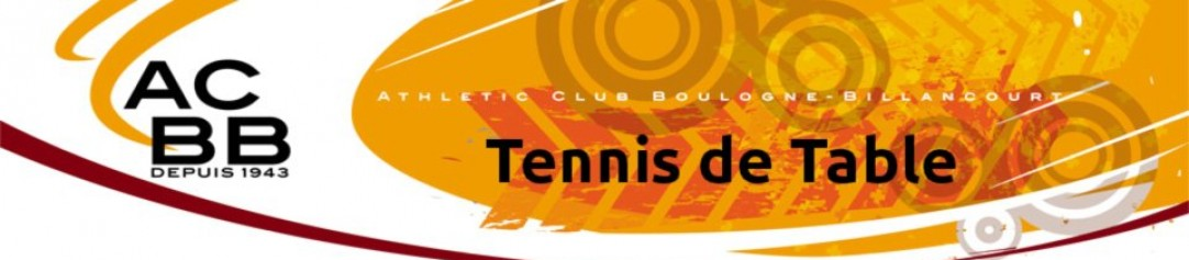 ACBB – Tennis de Table